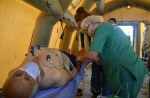 La explosión en el Beirut ha dejado 137 muertos y más de 5.000 heridos. Fotos: EFE.
