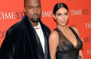 Kim Kardashian y Kanye West se casaron el 2014. Foto: Archivo