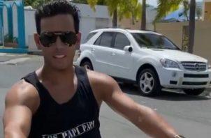 """Hace una semana """"Tito El Bambino"""" realizó el lanzamiento de su nuevo sencillo """"Sexy Sensual"""". Foto: Instagram"""
