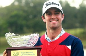 El estadounidense Davis Riley se impuso en el Panamá Championship de este año, que se jugó entre enero y febrero. Anayansi Gamez