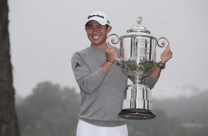 Collin Morikawa ganó el primer major del año.