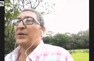 Carlos Caballero, veterinario.