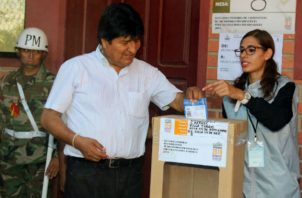 El exmandatario boliviano se encuentra desde el pasado diciembre en Argentina. Fotos: Archivo.