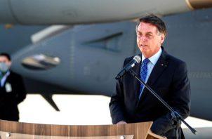 La declaración del presidente brasileño se produjo un día después de las renuncias. EFE