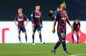El Barcelona sufrió una humillación histórica en Lisboa, donde cayó 8-2 frente al Bayern Múnich. EFE
