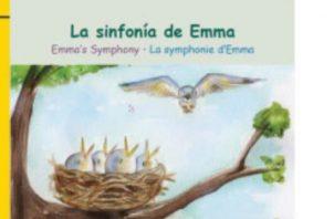 Hoy, domingo 16 de agosto, presentarán el libro 'La sinfonía de Emma', entre otros. Cortesía