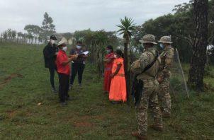 La supuesta secta opera en la comunidad de Guayabal en la zona central de Veraguas