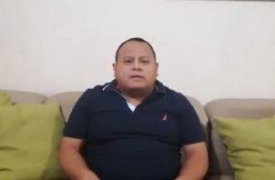 José Ruiloba es jefe de personal del Miviot.