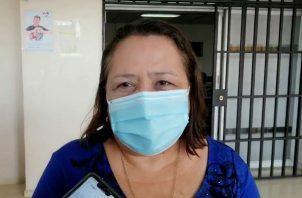 Yamilka Abad renunció al cargo argumentando agotamiento físico. Fotos: Eric A. Montenegro.