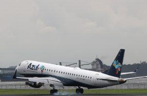 La llegada del coronavirus a América Latina redujo las operaciones de la aerolínea. EFE
