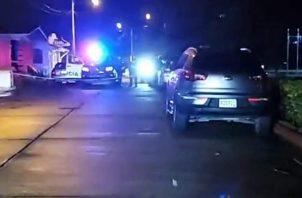 Los dos heridos fueron llevados al cuarto de urgencias de un hospital privado.