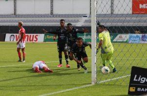 Gabriel Torres anotó para Independiente. Foto: @IDV_EC