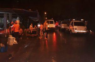 No solo en la ciudad se han registrado afectaciones, sino también en algunos puntos del interior.