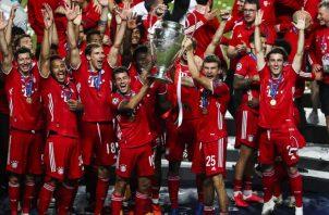 El Bayern Múnich logró once victorias en once partidos, incluida la final de Lisboa. EFE