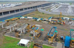 La obra contará con dos estaciones de pasajeros, una en el Itse y la otra en la terminal aérea, con andén lateral de 94 metros de largo. Foto/Cortesía