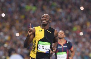 Usain Bolt. Foto:EFE