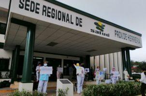 Las oficinas administrativas serán sometidas a un proceso de desinfección. Foto: Thays Domínguez.