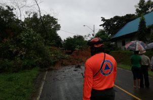 Ha sido imposible llegar a algunos sectores debido a las inundaciones y deslizamientos de tierra.