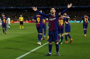 Messi. Foto:EFE
