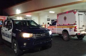 El baleado fue llevado al hospital Nicolás A. Solano, donde falleció. Fotos: Eric A. Montenegro