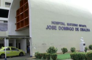 En el hospital hay otros tres niños recluidos con coronavirus. Fotos: José Vásquez.