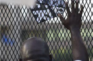 Foto de Rusten Sheskey, el oficial de policía que le disparó 7 veces a Jacob Blake. Fotos: EFE.