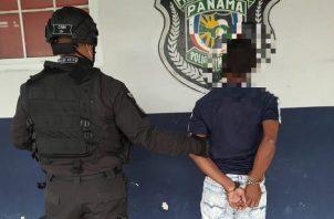 La Policía Nacional realiza operativos a nivel nacional.