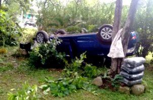 70 accidentes de tránsito en las últimas 24 horas en Panamá. Foto Cortesía