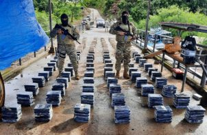 Unos 809 paquetes de sustancia ilícita fueron decomisados en Isla Ladrones en Chiriquí.