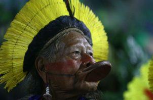 """El Instituto Raoni subrayó que la pandemia """"se viene arrastrando"""" en los territorios indígenas, """"poniendo en riesgo la vida de centenas de indígenas"""". Fotos: EFE/Archivo."""