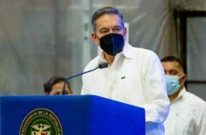 El presidente Laurentino Cortizo sugirió mantener la cautela.