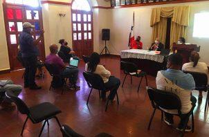 El lunes se llevó a cabo una reunión con autoridades en la gobernación de Coclé