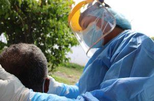 En las últimas 24 horas se aplicaron 3.514  pruebas de detección de COVID-19.