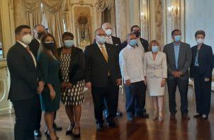 El acto de instalación se realizó en la Presidencia. Foto/Víctor Arosemena