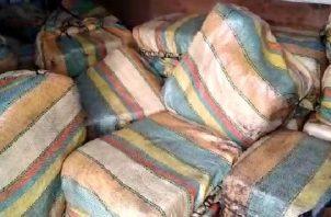 Las sustancias ilícitasfueron encontradas en unos vehículos cuando los sujetos salían de la barriada montemadero en Pacora.