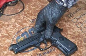 Del total de armas decomisadas un total de 21 fueron pistolas. Fotos: José Vásquez.