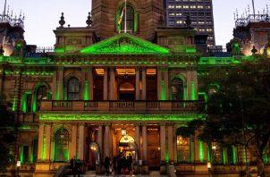 Ayuntamiento de la ciudad de Sydney, Sydney Town Hall. EFE