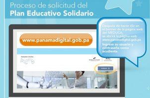 El Plan Educativo Solidario es un beneficio gratuito para alumnos del sector público de todo el país.