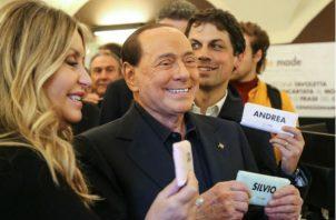 Residencia del exprimer ministro Silvio Berlusconi, en Italia. Fotos: EFE.