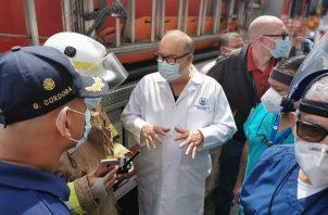 El director de la CSS, Enrique Lau Cortés, dijo que en la Clínica Post COVID-19 se le dará seguimiento a los pacientes.