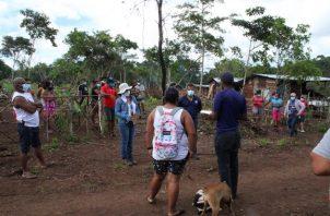 Las áreas invadidas en Arraiján están localizadas en Las Parcelas 21 y El Toro.