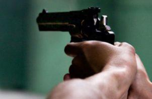 En las escena del crimen en Los Libertadores se encontraron más de 14 casquillos de balas.