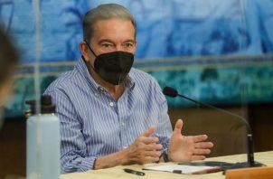 Laurentino Cortizo dijo que sancionará el anteproyecto de ley si lo Asamblea la aprueba.