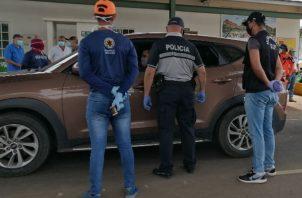 Miles de vehículos fueron devueltos en estos puestos por no justificar su presencia en la región. Foto: Thays Domínguez