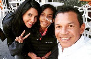 Luis Casis compartió un post por el cumpleaños de Andrea Nicolle Quijada. Foto: Instagram