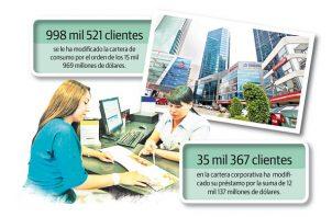 Carlos Berguido le recomendó a los consumidores acercarse a los bancos para realizar un acuerdo o una reestructuración del crédito.