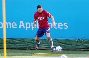 Messi. Foto: Twiiter