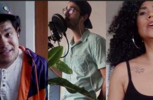 Carlos Vallarino, Robert Spratt y Tatiana Ríos. Foto: Youtube