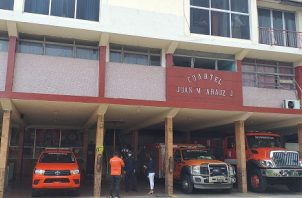 Se ha procedido a extremar medidas de control en el personal bomberil para evitar más contagios. José Vásquez
