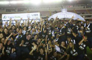 Tauro fue el último campeón del fútbol panameño, gano el Apertura 2019. Foto: Anayansi Gamez